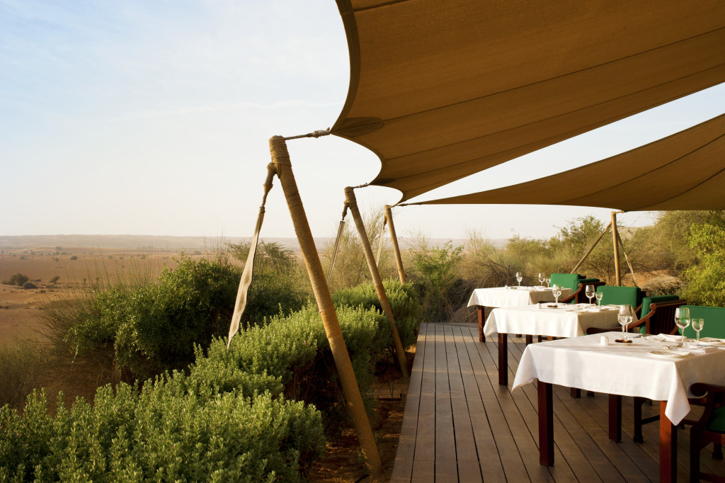 Al Maha reserve wildlife resort Dubai - restaurant