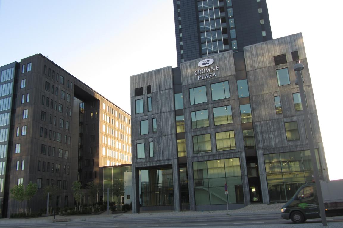 Review crowne plaza copenhagen towers business hotel denmark for Hotel in kopenhagen