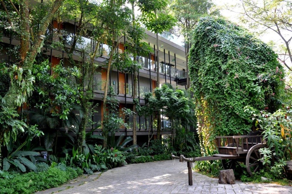 Siloso eco beach resort on Sentosa Island, Singapore