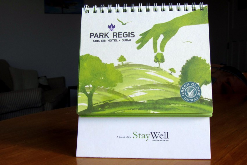 Sustainability at Park Regis Kris Kin Dubai