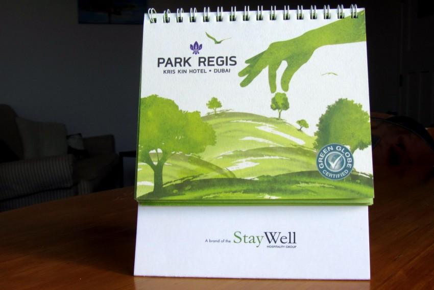 Sustainability at Park Regis Kris Kin Dubai