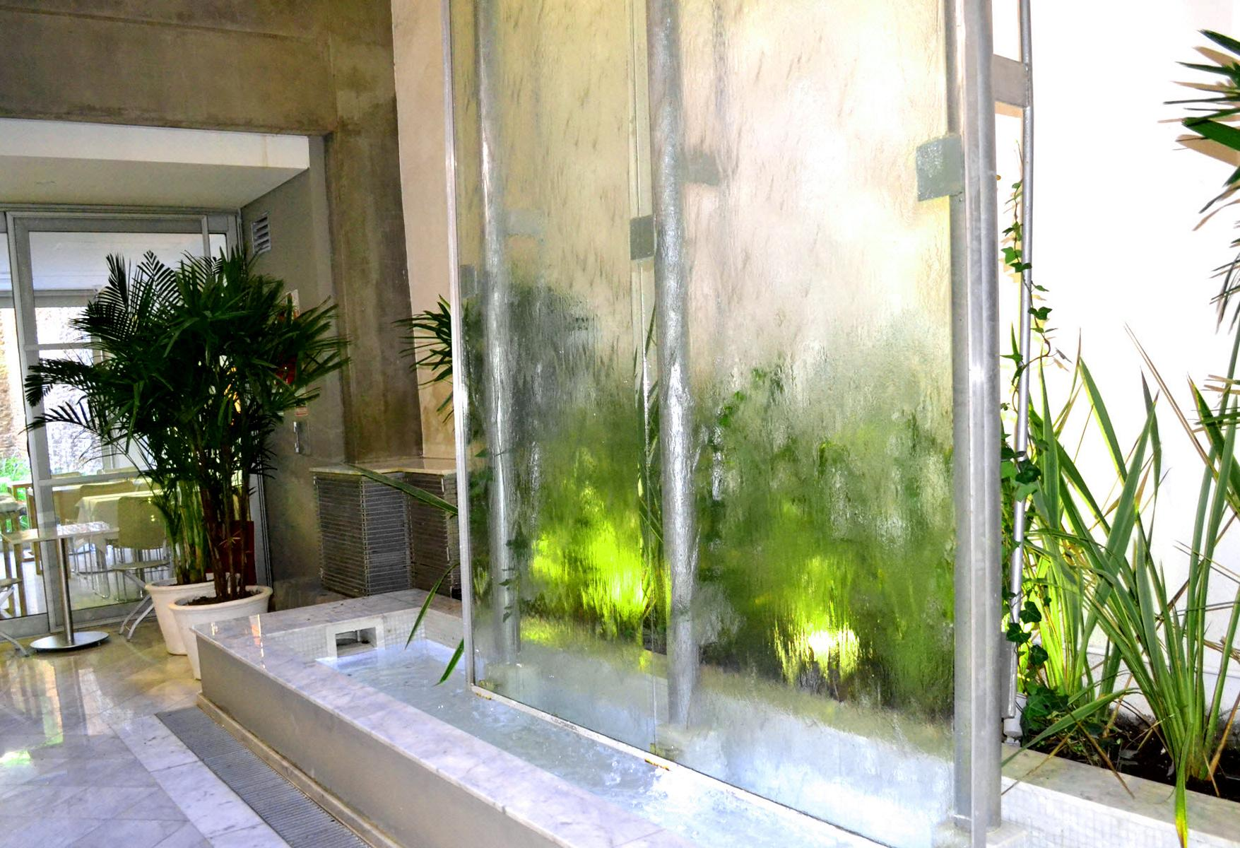 Waterfall in Palo Santo Hotel Buenos Aires Argentina