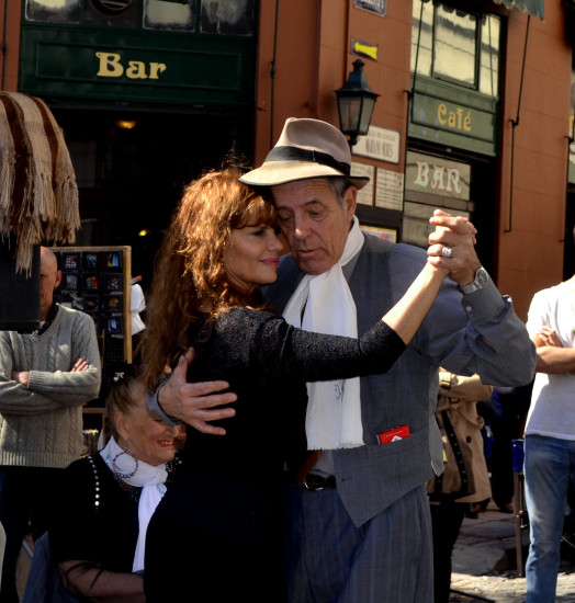 Street Tango in Buenos Aires, Argentina