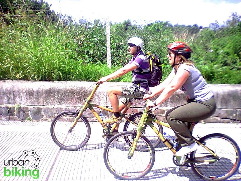 Urban Biking in Buenos Aires, Argentina