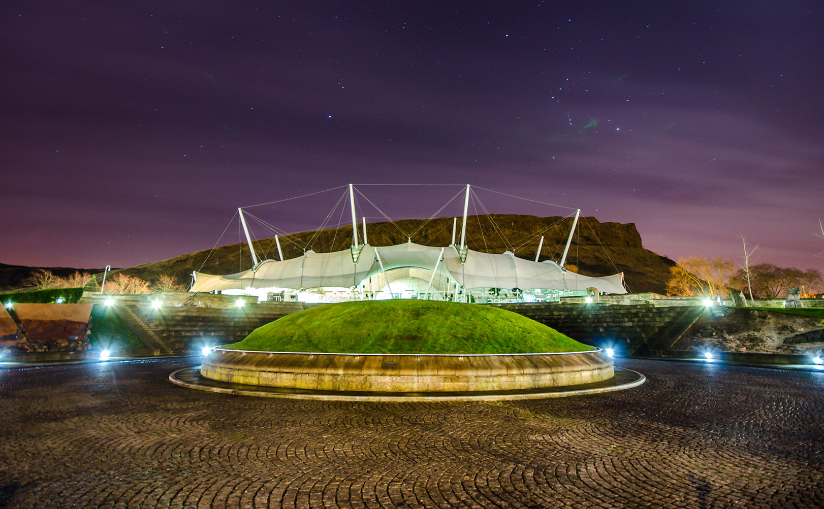 Our Dynamic Earth Eco-Friendly Visitor Attraction Edinburgh