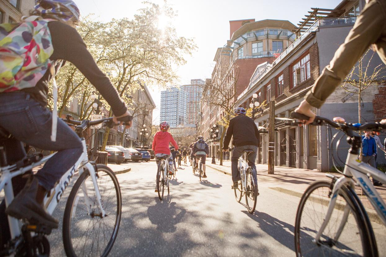 Vancouver Cycle City Tours Rolls into Gastown