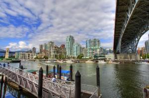 Vancouver Granville Island Ferry Dock