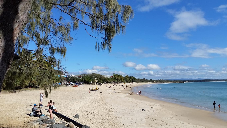Noosa Heads beach, Queensland, Australia