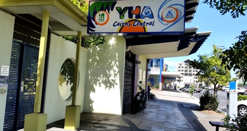Cairns Central YHA Eco friendly budget backpacker accommodation