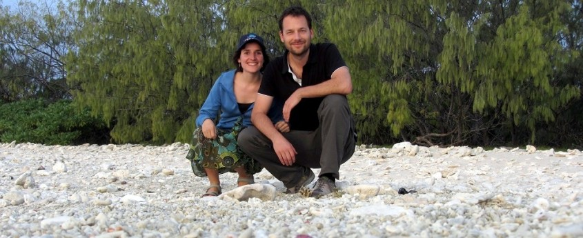 Green City Trips editors at Lady Elliot Island Eco Resort