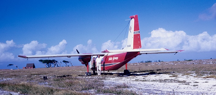 Lady Elliot Island in the 1970s