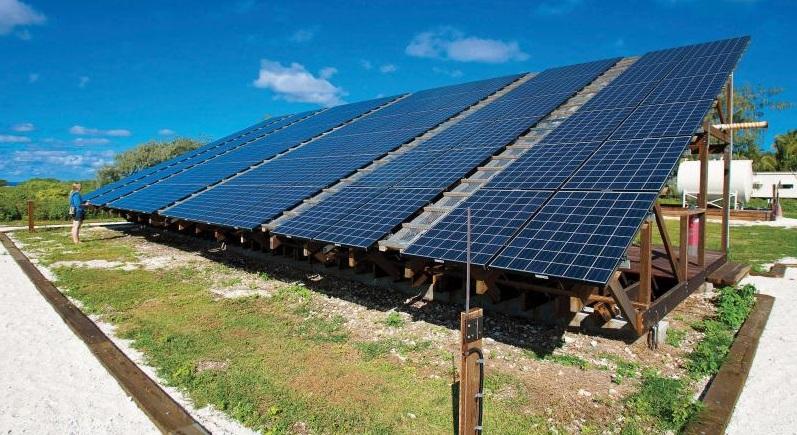 Solar energy for Lady Elliot Island Eco Resort