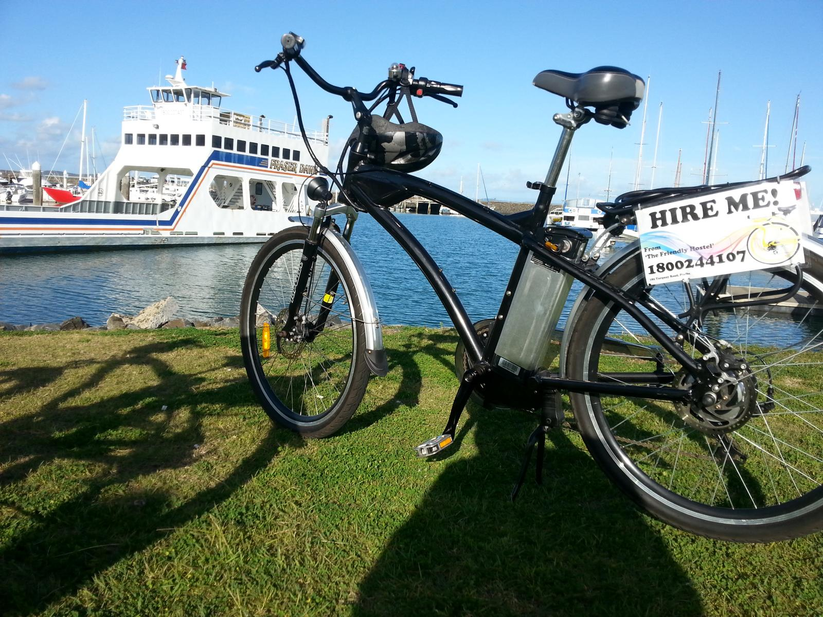The Friendly Hostel, Electric Bike Hire, Hervey Bay, Queensland, Australia 3