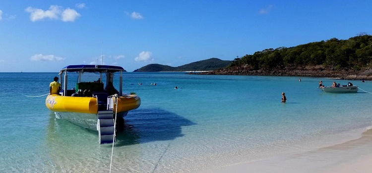 Cairns City Escape: Whitsundays Ocean Rafting in Airlie Beach, Queensland