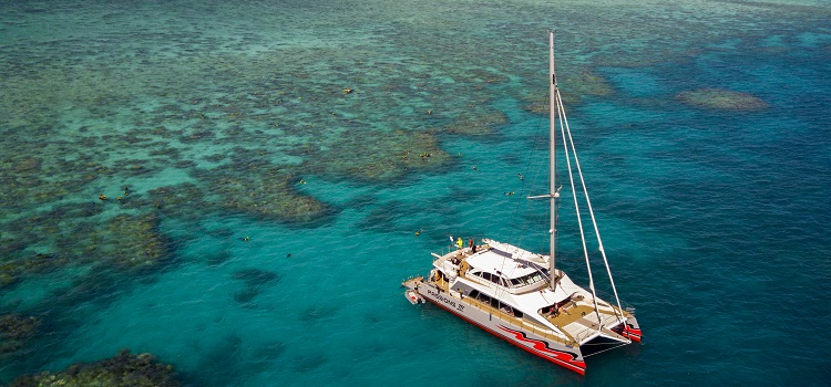 Review of Passions of Paradise: Sail, Snorkel, Dive Along Great Barrier Reef Near Cairns