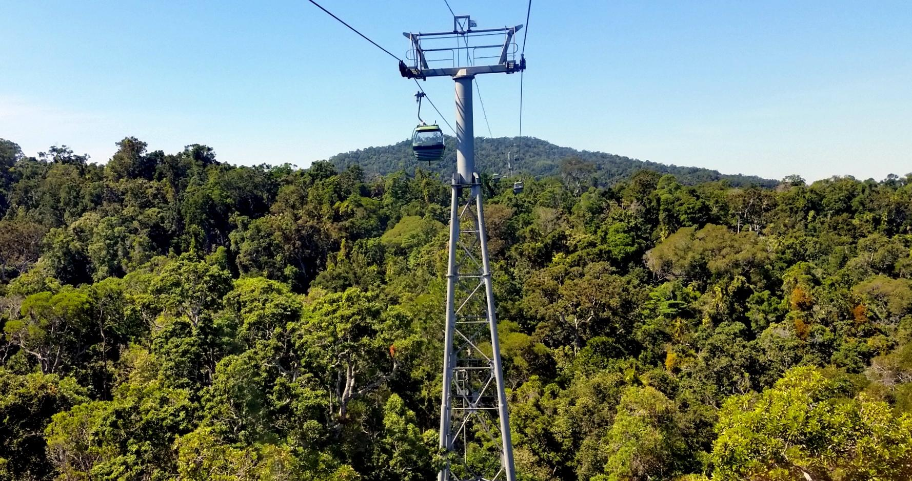 Skyrail Rainforest Cableway - eco friendly day activity in Cairns, Australia