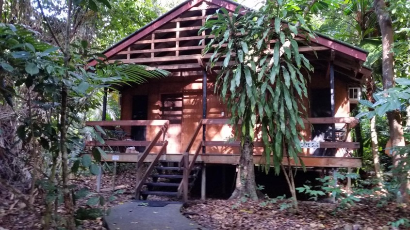Accommodation at the Beach House, Cape Tribulation, north of Cairns, Queensland, Australia