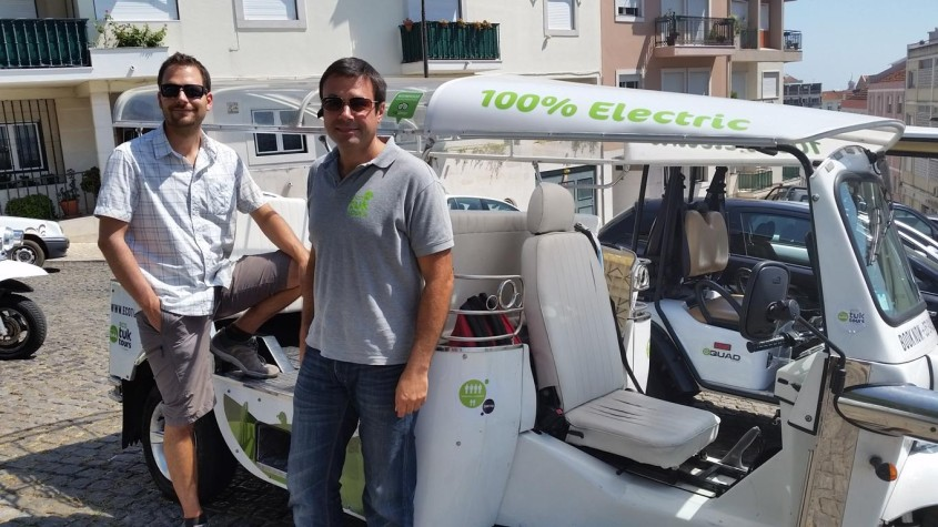 Explore green city destination Lisbon with Eco Tuk tours