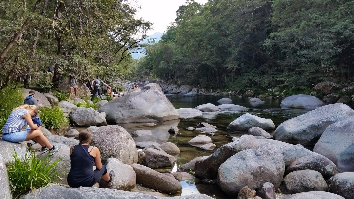 Mossman Gorge River, from Cairns to Cape Tribulation