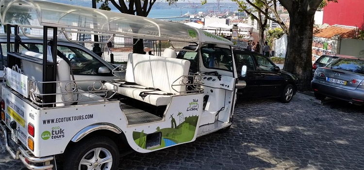 Review of Eco Tuk Tour Through Lisbon, Portugal