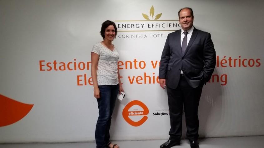 Electric car station Corinthia hotel Lisbon