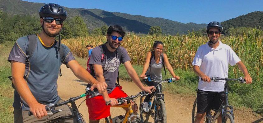 Cycling in Vall d'en Bas