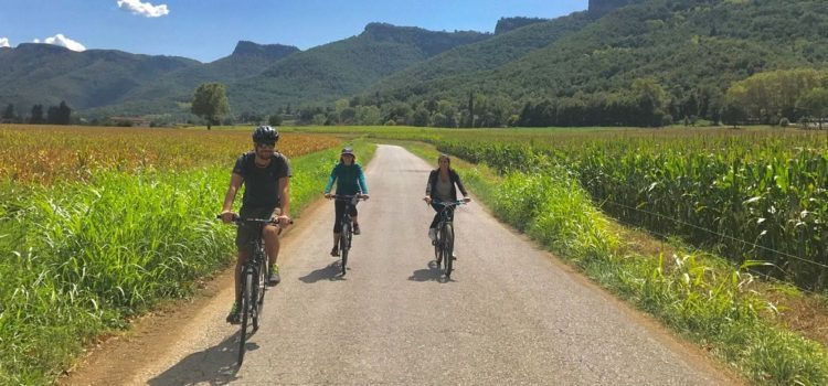 Barcelona City Escape: Cycling and Hiking in La Fageda and Vall d'En Bas, Olot