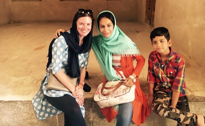 Ellie Cleary of Soul Travel Blog in Iran