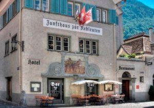 Hotel Zunfthaus zum Rebleuten in Chur, Switzerland